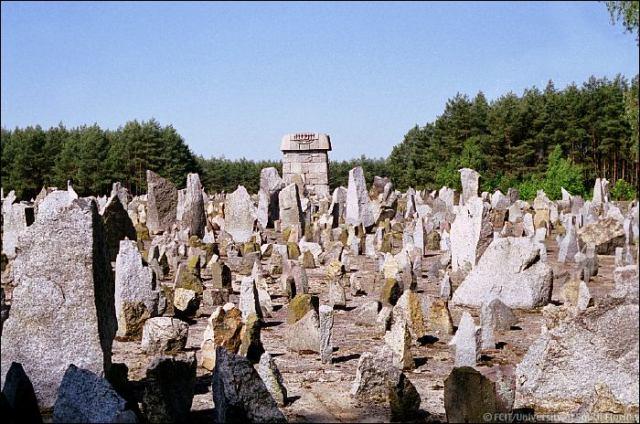 Treblinka field of stones
