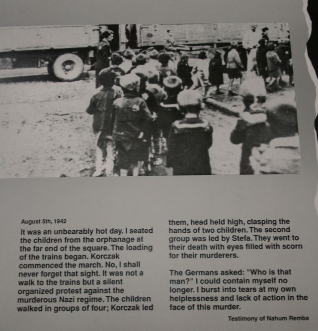 Korczak deportation