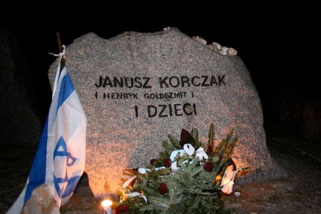 Korczak stone Treblinka